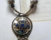 Gemstone Lapis Luzuli  Necklace