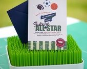 All-Star Baby Shower CUSTOMIZED printable invitation