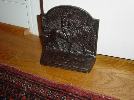 Bookend/Door Stop, Vintage Cast Iron