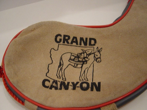 Leather Water Pouch, Vintage, Collectible