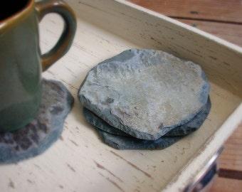 SLATE COASTERS / RECLAIMED Historic / Kitchen stone patio