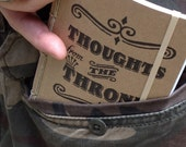 Thoughts from the Throne- A Pocket Journal