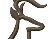 Instant Download Deer Outline embroidery design - Machine Embroidery File - Machine Embroidery Design - Digital Design File