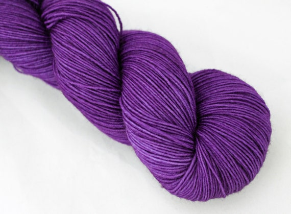 Custom Listing for Lisa - Tranquil BFL Sock - 75/25 SW BFL /Nylon - 460 Yards Fingering weight - Intense