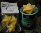 Lemon Bergamot soy and palm wax candle melts