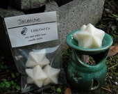 Jasmine soy and palm wax candle melts