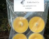 lemon bergamot tealight 4 pack