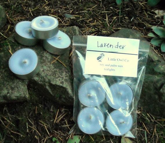 Lavender tealight 4 pack