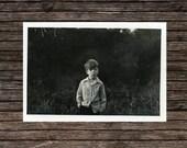 "Vintage Photo ""Lost Boy"", Photography, Paper Ephemera, Snapshot, Old Photo, Collectibles - BC008"