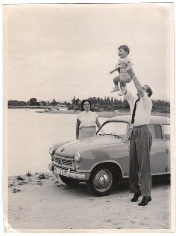Vintage Photo - Memories with Mom and Dad