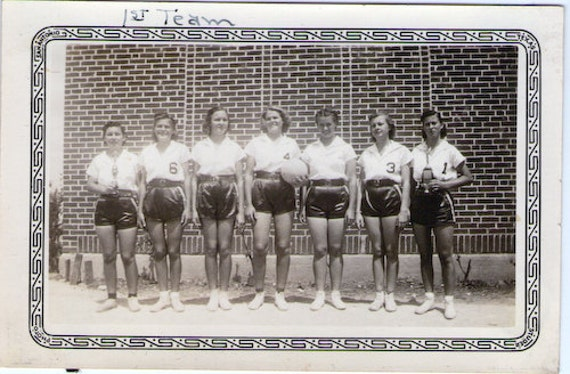 Vintage Photo - All Girls Sports Team