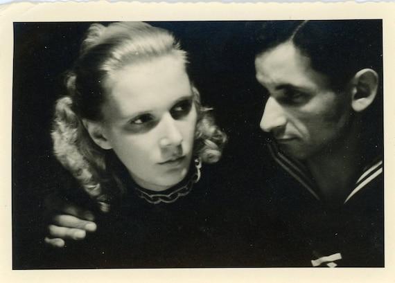 Vintage Photo - Tender Moment