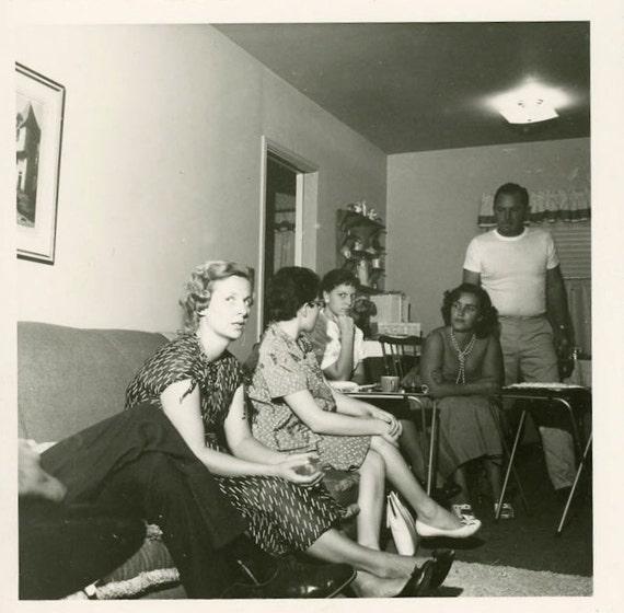 "Vintage Photo ""Paranoid Jane"", Photography, Paper Ephemera, Snapshot, Old Photo, Collectibles - FT015"