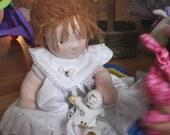 """CUSTOM Demilunes Waldorf Doll 16"""""""