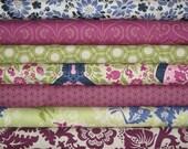 SALE SewMod Stacks Half Yard Bundle of  7-Oval Elements, Heirloom, Secret Garden, & Bespoken By Art Gallery Fabrics 15% Off