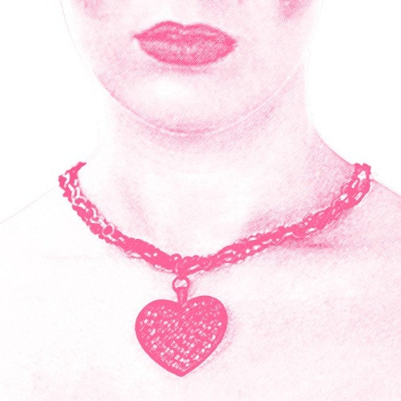 My Funny Valentine -  fine art altered photography -  portrait of a young woman fair of skin with rose colored lips  .  5x5