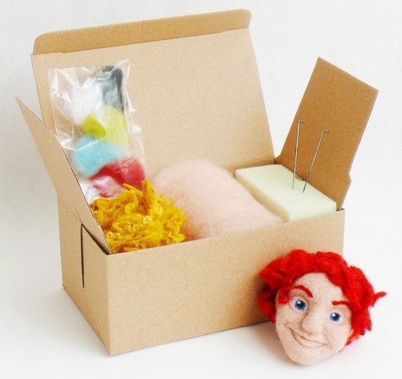 Needle Felting Kit - FACE