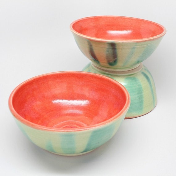 Reserved for T Pair of Melon Bowls