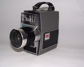 Vintage Movie Camera 60's Kodak Electric 8 Zoom Movie Camera Fathers Day Mothers Day