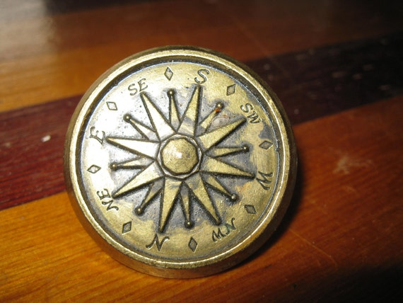 kitchen cabinet nautical knobs seven vintage nautical compass cabinet drawer pulls 19183