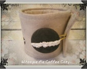 Maine Whoopie Pie Cup Cozy, Father's Day, Graduation, Maine Treat - ForeverWhoopies
