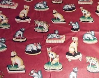 SALE  Animal Pattern Home Decor Fabric