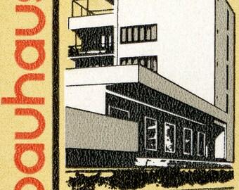 Bauhaus - Walter Gropius - Weimar - DDR - 10x8 Mounted Canvas Print