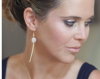 Crystal Gold Filled  Earrings  with Swarovski Crystals