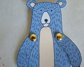 Make your own Bear paper doll
