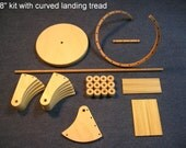 1/12 scale 8 inch Spiral staircase kit / curved landing