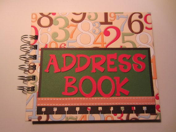 Numbers Address Book