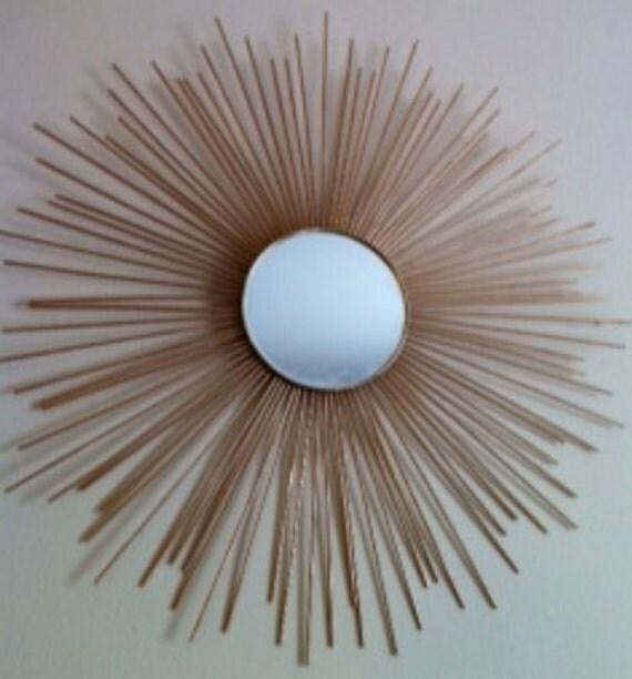 Mirrored Star Wall Decor: Sunburst Mirror Star Mirror Round Mirror Circle By