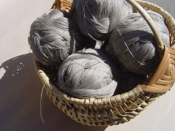 Linen Yarn 1 ball for Create or Fix Wonderful Linen Things - Great house decor