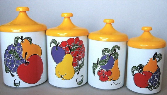 Vintage Kitchen Canisters by Pantry Queen