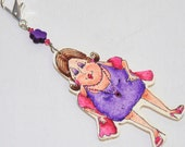 Last of the red hot mamas keychain