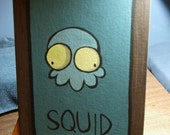 INVADER ZIM Squid From Zim's Living Room, LIFE SIZE PAINTING