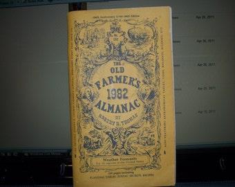 Old Farmer's Almanac 1982