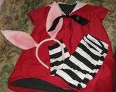 EARS ONLY Custom Made Olivia The Pig Headband Ears For Halloween Costume