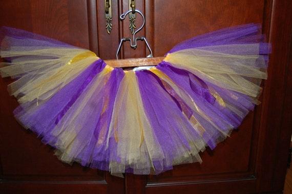 Purple and Gold Tutu