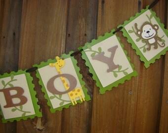 "Jungle "" Baby Boy""  Banner"