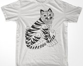 Retro Korea Asia Tiger 02 men & ladies t-shirt  (id6511)