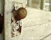 Fine Art Photograph, Rusty Old Door, 8x10
