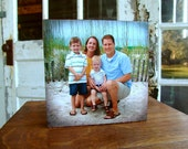 "Custom Photo Block - Made with your photo - 8""x8"""