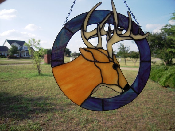 Stained Glass Buck