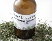 Organic Peppermint Essential Oil 1 Oz