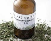 Organic Peppermint Essential Oil 1 Oz