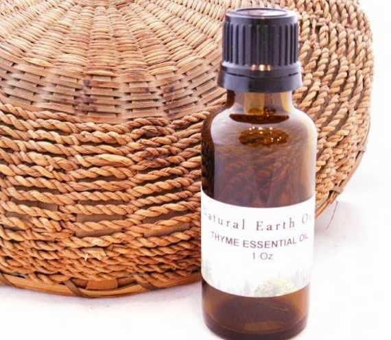 Organic Thyme Essential Oil 1 Oz