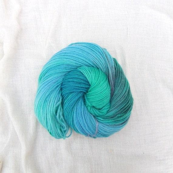 CIJ Sale - Hand Dyed DK Yarn 100g Superwash BFL - Rockpool 9