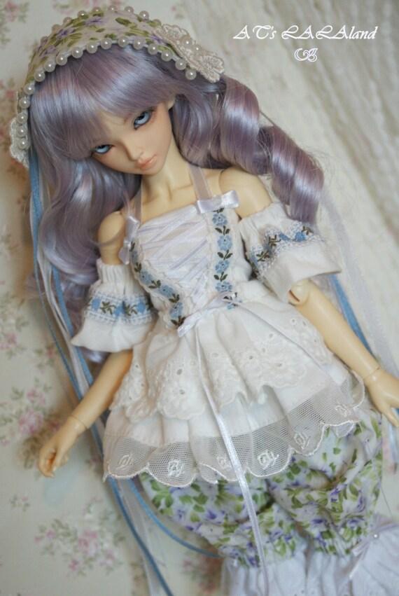 Princess' Chamber, MSD dress set, 1/4 size, ooak