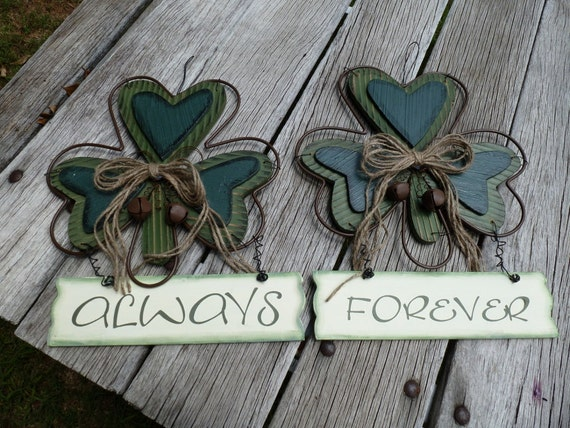 CELTIC WEDDING LarGe DECoRATIONS For Pew Markers Bride And